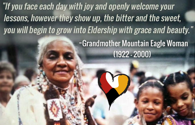 Grandmother Moutain Eagle Woman