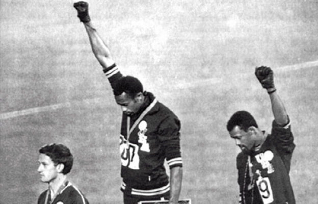 Black Power Salute, Mexico Summer Olympics (1968)