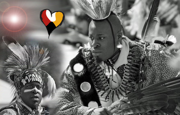 Ausben Jordan Strongheart. Afro Native Performer, Powwow Dancer