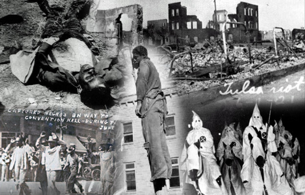 Tulsa Race Massacre of 1921: Black Wall Street Greenwood District Oklahoma