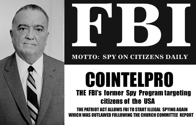 What was FBI's COINTELPRO? Real American Terrorism (1970s)