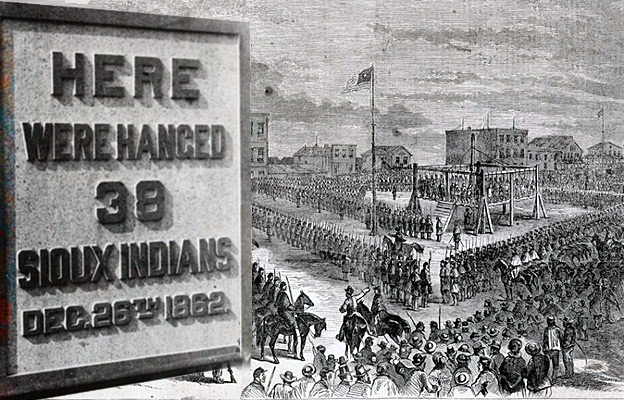 Largest Mass Hanging Execution in US History 1862