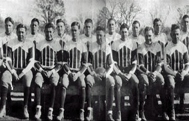 All-Native Hominy Indians Defeat New York Giants in 1927
