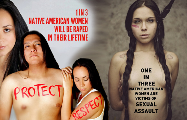No More Hyper-Sexualization of Native Women!