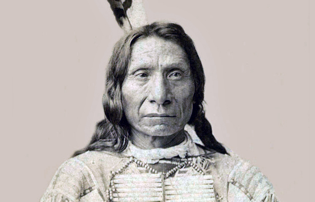 Chief Red Cloud aka Maȟpíya Lúta, Oglala Lakota Leader