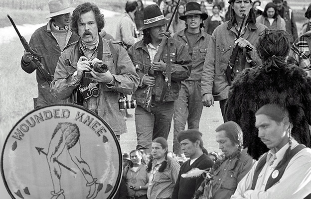 Wounded Knee Standoff 1973: Pine Ridge South Dakota