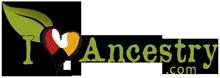 I Love Ancestry logo