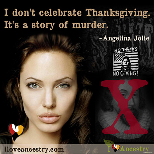 Angelina Jolie Thanksgiving