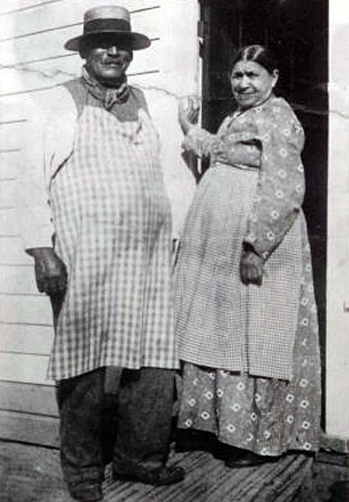 George Crum Speck and his sister